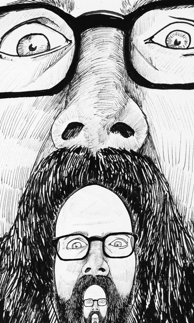 zelfportret-fractal-face-inktober-donorbrain